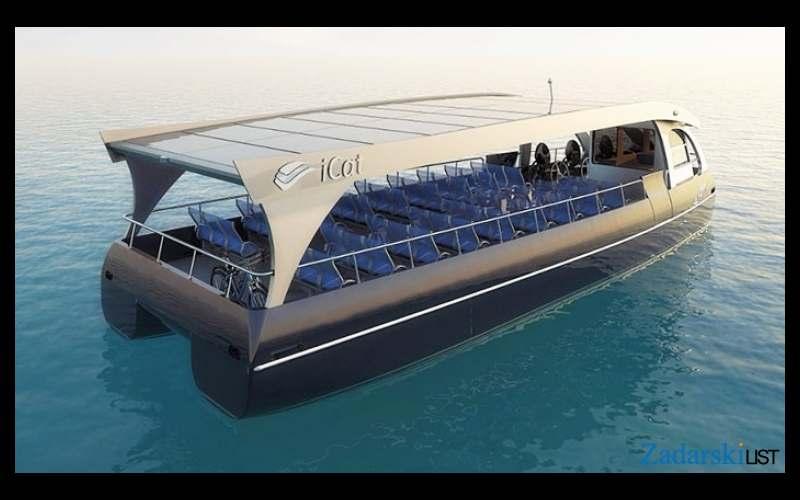 Solarni putnički brod za 80-ak putnika