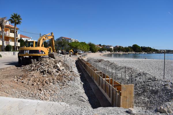 TURANJ: Uređenje plaže Morovička 1.FAZA