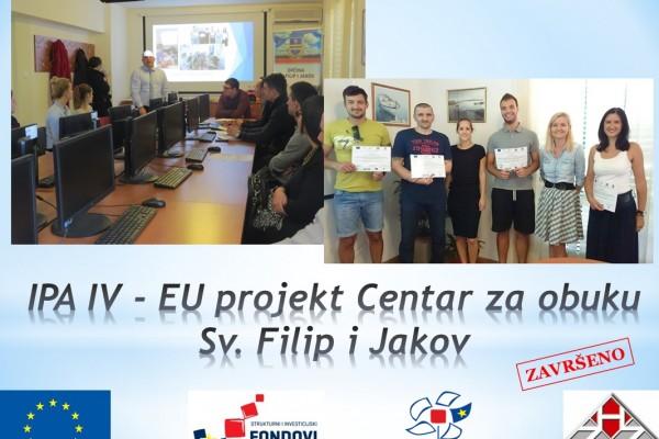 """TRAINING CENTRE SV. FILIP I JAKOV"" (""CENTAR ZA OBUKU - KLUB ZAPOSLENIH"")"