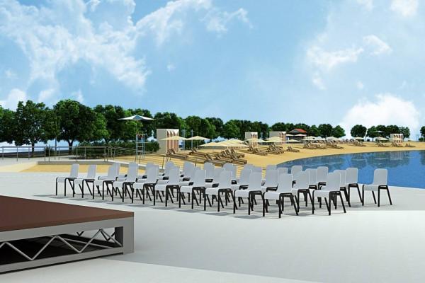 TURANJ : Uređenje plaže Morovička 2. faza