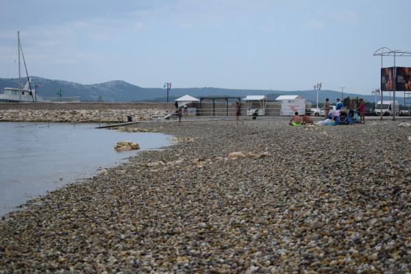 Uređenje plaže Morovička u Turnju