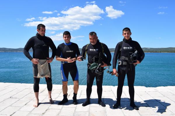 U Sv. Filipu i Jakovu  održana akcija čišćenja podmorja
