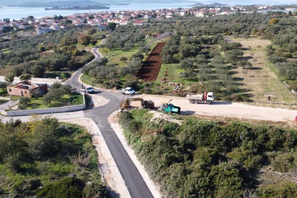 Asfaltiran put Rabatin - Žankovac